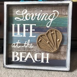 Living life at the beach